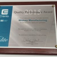 Widney wins Quality Performance Award